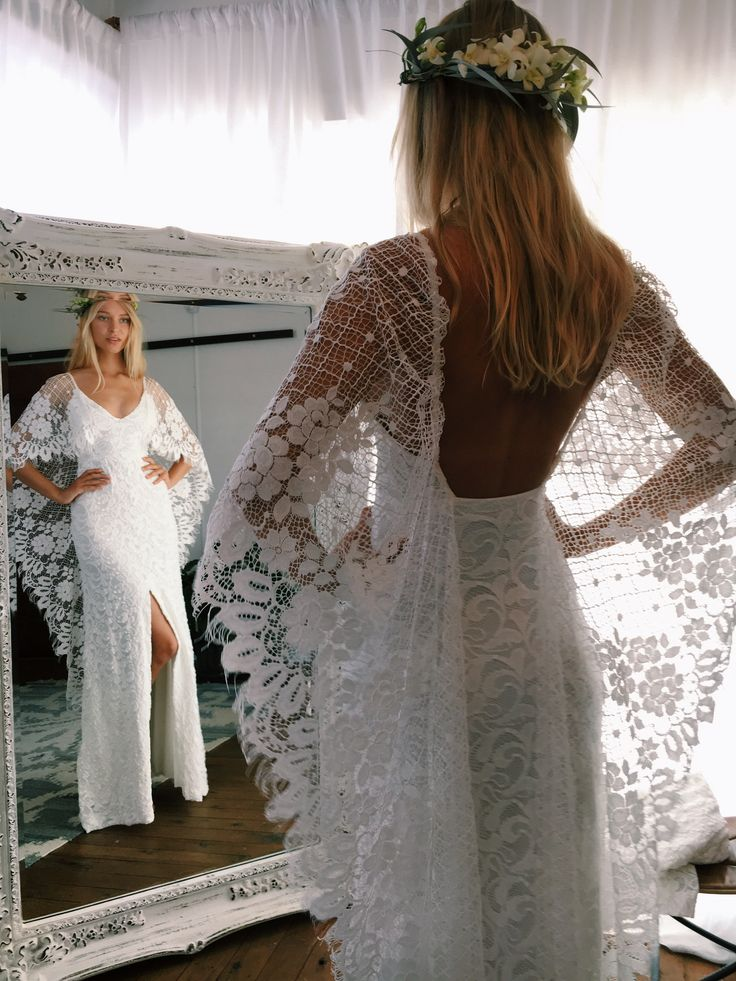 An interesting look on lots of lace from VERDELLE 2.0 | Grace Loves Lace