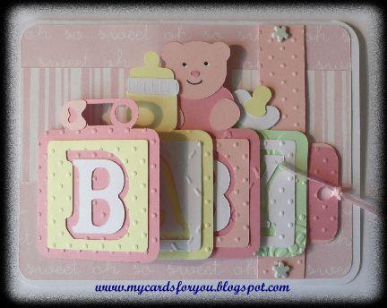 baby waterfall card - bjl