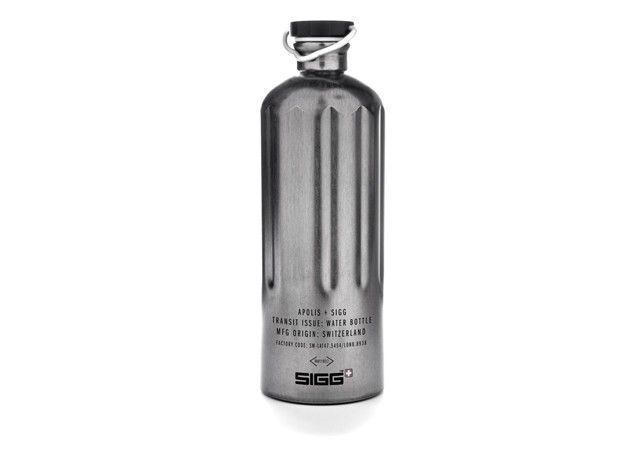 My newest accessory! Transit Issue SIGG Water Bottle for Apolis. $28