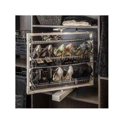 Hardware Resources RSR-12 Twelve Shelf Revolving Shoe Rack