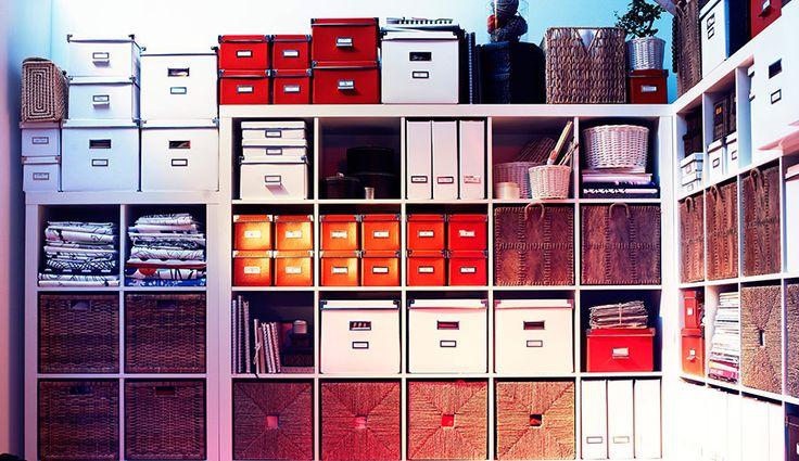 Cajas y cestas soluciones cargadas de personalidad y for Orden en casa ikea