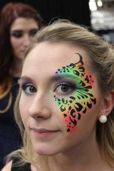 Pin by The Face Painting School on Face Painting Eye Designs | Pinter…