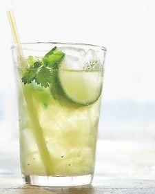 cilantro limeade: Fresh Drinks, Non Alcohol Drinks, Alcohol Drinks Recipes, Summer Drinks Recipes, Beverages, Drink Recipes, Cilantrolimead, Refreshing Summer Drinks, Cilantro Limeade