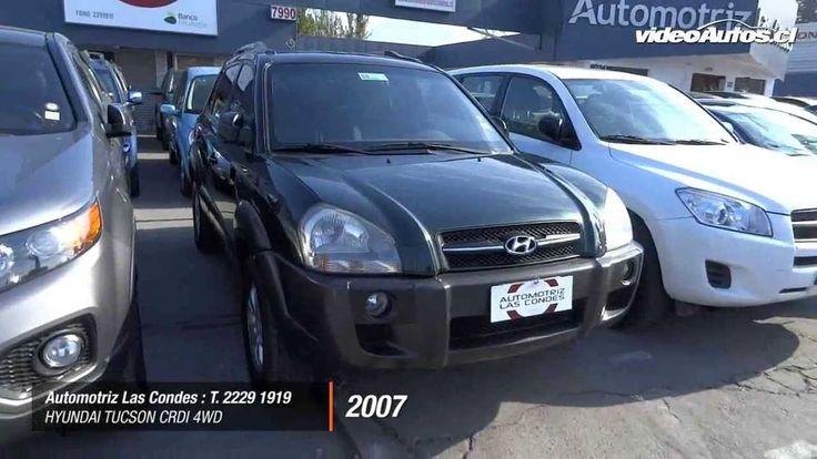 www.VideoAutos.cl :: Autos Usados con Video :: Hyundai Tucson CRDI