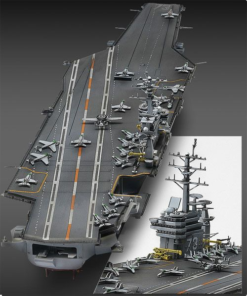 #NEW #Aircraft Carrier #CVN-73 U.S.S. #George #Washington ...
