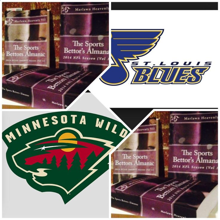 4/22/15 NHL Playoffs: #StLouis #Blues vs #Minnesota #Wild (Take: Blues  119,Under 5 Goals) (THIS IS NOT A SPECIAL PICK ) The Sports Bettors Almanac SPORTS BETTING ADVICE On 95% of regular season games ATS including Over/Under 1.) The Sports Bettors Almanac available at www.Amazon.com 2.) Check for updates Marlawn Heavenly VII ( SportyNerd@ymail.com ) #NFL #MLB #NHL #NBA #NCAAB #NCAAF #LasVegas #Football #Basketball #Baseball #Hockey #SBA #Boxing #Business #Entrepreneur #Investing #