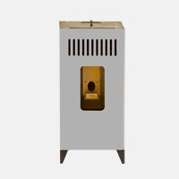 Pellet stove modular and customizable MIA 7.5   Olimpia Splendid