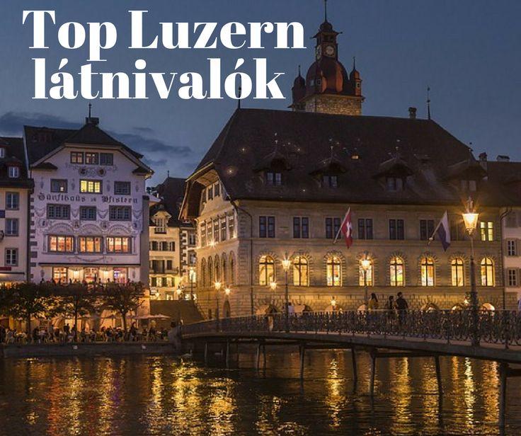 Top látnivalók a svájci Luzernben