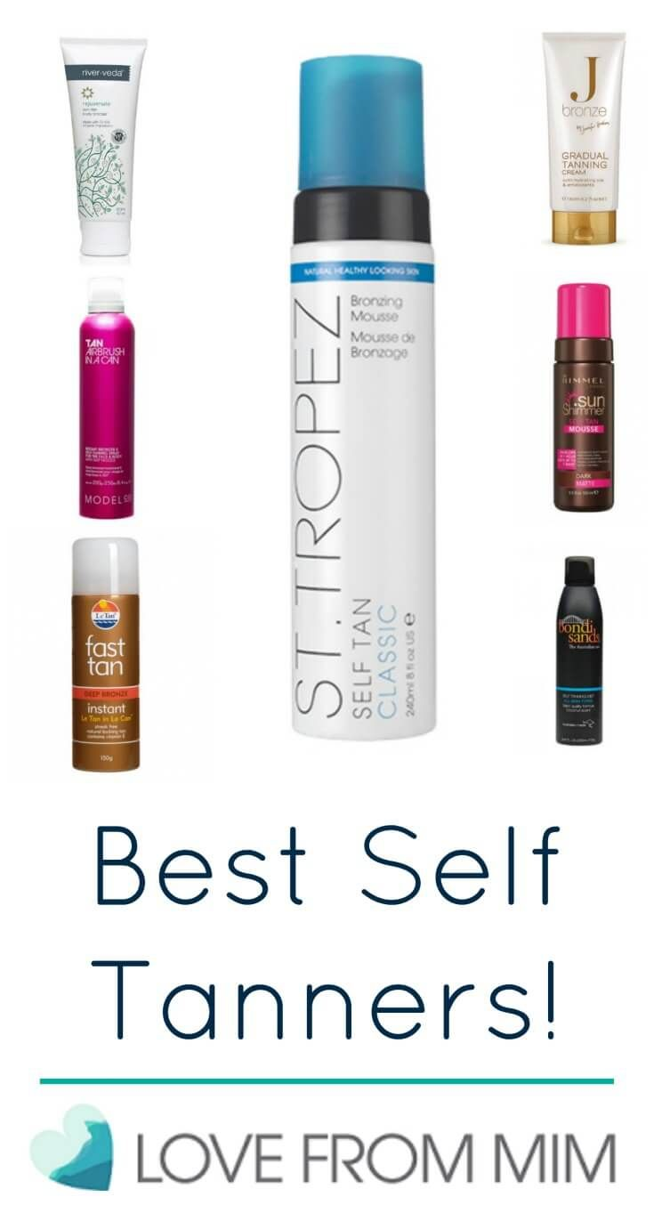 7 Best Self Tanners 2017 - lovefrommim.com Love from Mim Best Self Sun Products, Best Self Tanning Products, Best Self Tanners, Self Tanning, Tanning, Tanners, Fake Tan, Best Fake Tan Products, Sun, Skin Care, Skin, Beauty, Budget Friendly Self Tanners, St Tropez Classic Bronzing Mousse, Bondi Sands Self Tanning Mist, Le Tan Fast Tan Instant Foaming Mousse, J Bronze Gradual Tanning Lotion, ModelCo Tam Airbrush in a Can, River Veda Sun Star Body Bronzer, Rimmel Self Tan Mousse,
