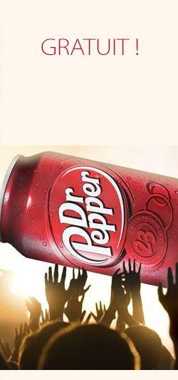 Méga canette de Dr Pepper gratuite  http://rienquedugratuit.ca/nourriture/dr-pepper-gratuit/