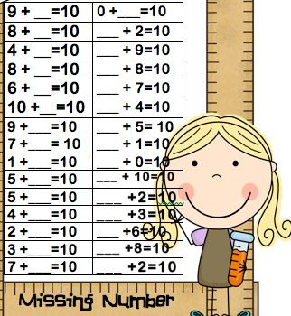 1000+ images about Missing addend on Pinterest   Math sheets, Math ...