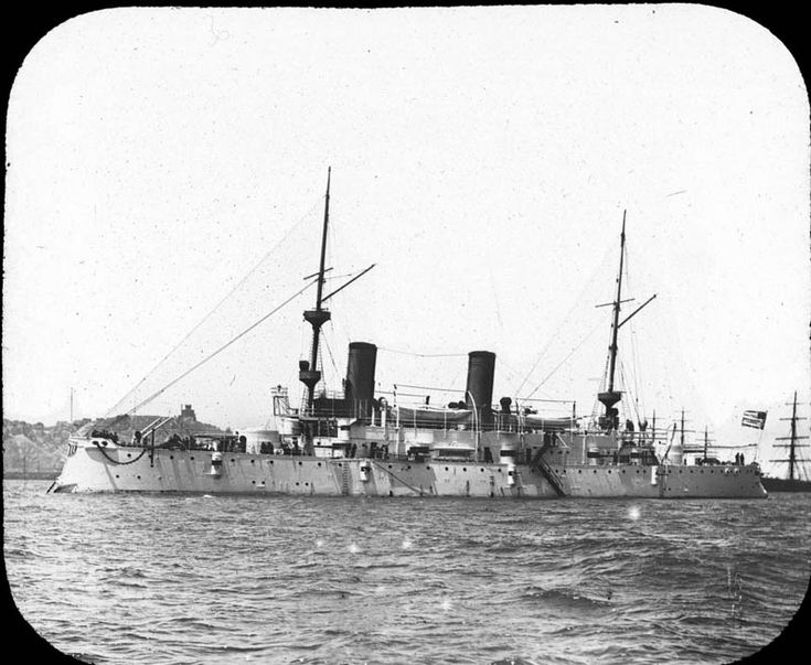 Adm. George Dewey's flagship during the Battle of Manila Bay was the USS Olympia.