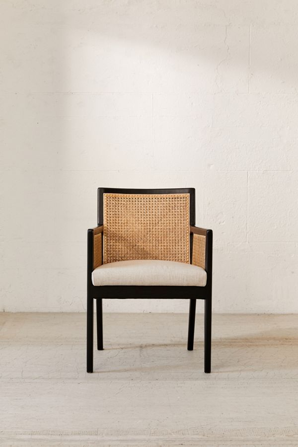 Elise Cane Arm Chair In 2020 Cane Dining Chairs Furniture Dining Chairs
