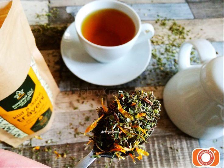 Konopný čaj pro klidné trávení