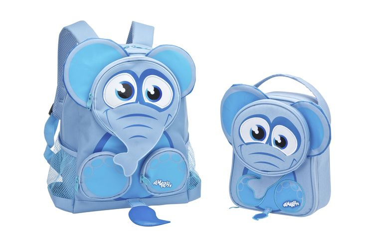 Elephant Backpack and Lunch Bag