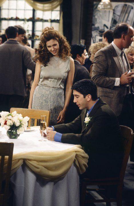 Susan Bunch (Jessica Hecht), Ross Geller (David Schwimmer) ~ Friends ~ Episode Stills ~ Season 2, Episode 11 ~ The One With the Lesbian Wedding