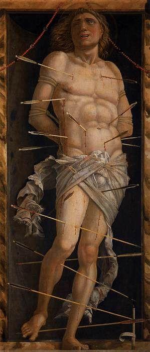 St. Sebastian by Andrea Mantegna