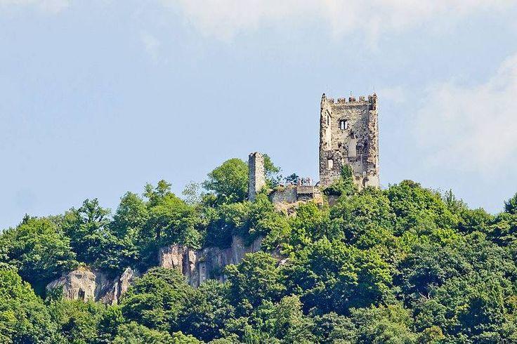 Burgruine drachenfels  Königswinter