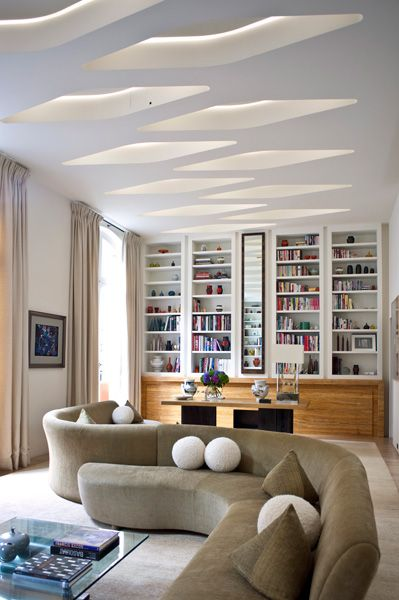 Ateliers Charles Jouffre sofa in Yovanovitch's townhouse