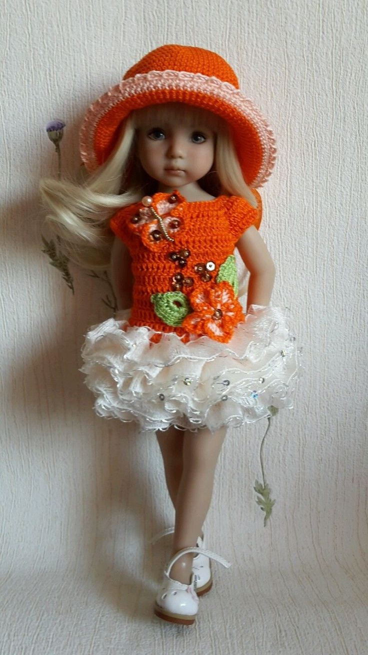 """OOAK Outfit for doll 13"""" Dianna Effner Little Darling hand made"""