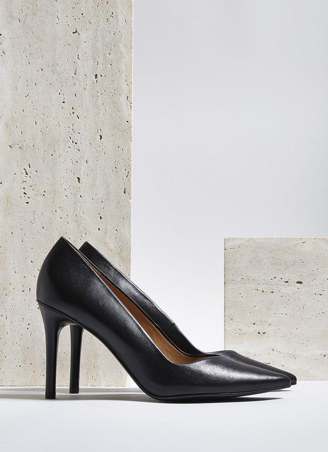Zapato Stiletto de piel