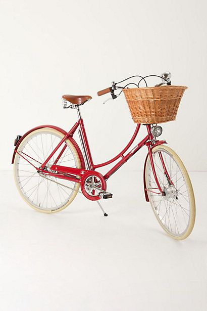 Not sure why you'd buy a bike from Anthropologie, but apparently you can. It is cute. Pashley Brittania Bike #anthropologie