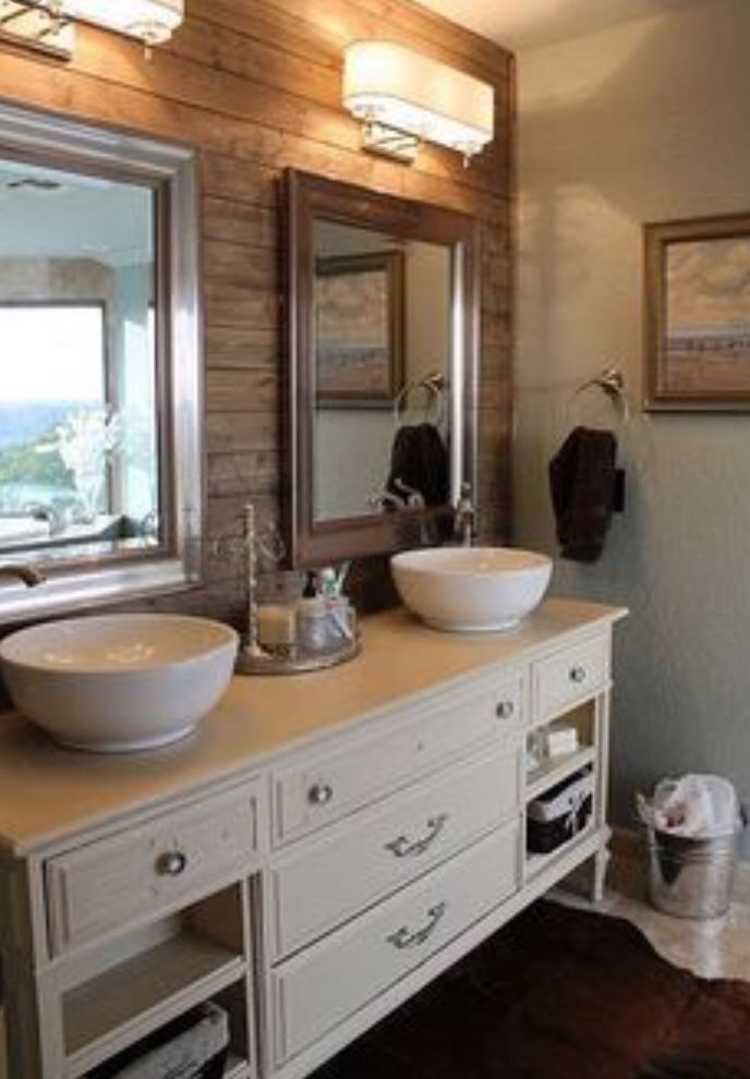 pallet  reclaimed wood accent walls  bathrooms remodel