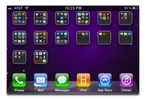 Make your iPhone screen look like a mini iPad