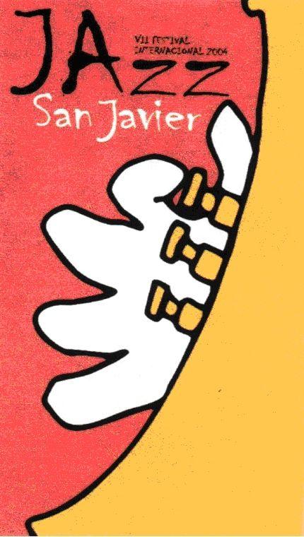 Cartel del VII Festival de Jazz de San Javier
