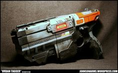 Johnson Arms | custom movie props and customized nerf guns