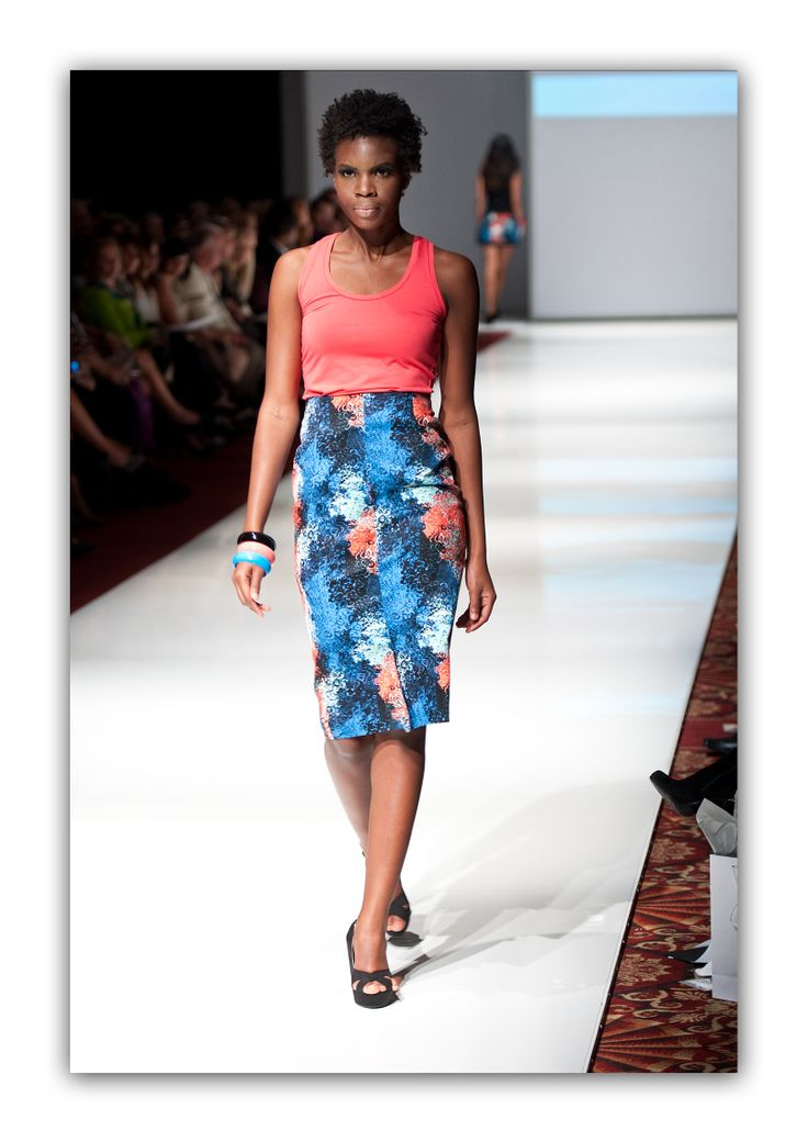 Circle Print Pencil Skirt   Available March 24th at www.berniceandbarclay.com