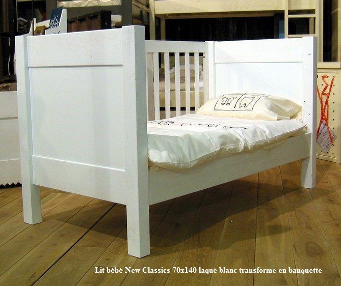 17 melhores ideias sobre lit b b 70x140 no pinterest tour de lit fille tour de lit gris e - Chambre bebe en bois massif ...