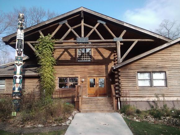 Pilcher Park Nature Center Joliet Illinois