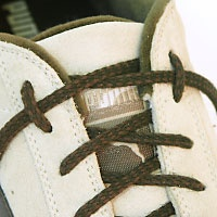 Lock lacing keeps lacing at ankles tight. My runner husband taught me this trick & it works SO well.