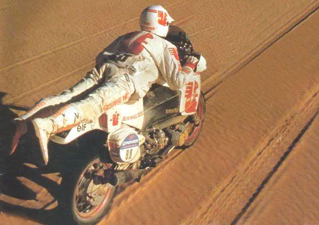 Pierre-Marie Poli - Ecureuil 1000 #ParisDakar 1989.