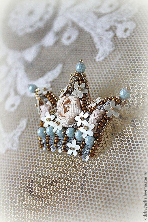 Irena Gasha детская коллекция - Брошь - корона