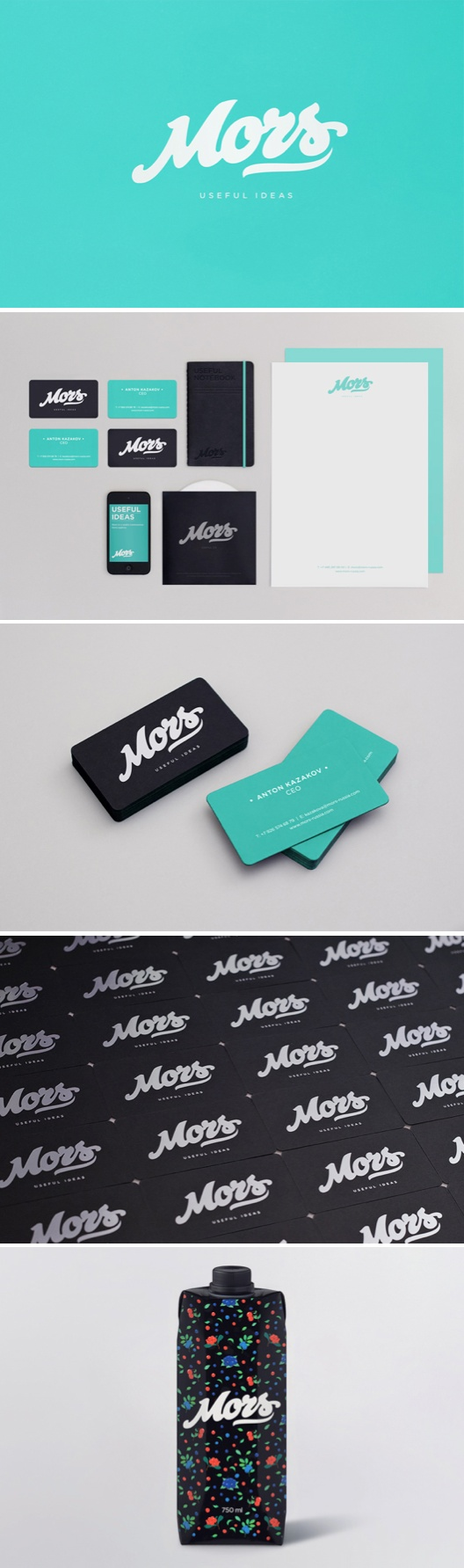 Mors Russia identity #packaging #branding PD