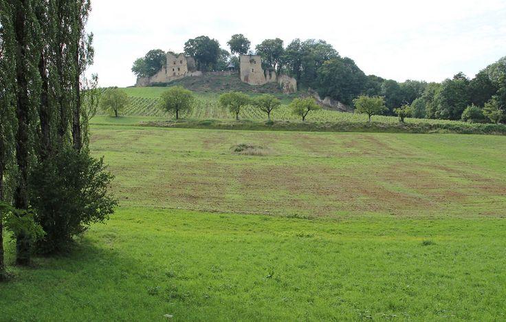 ruine du chateau fort d'arlay