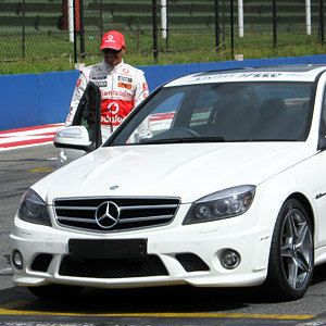 Lewis Hamilton RSA 2010 - Kyalami Racetrack