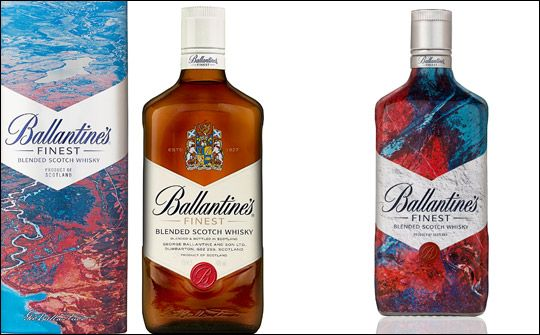 Ballantine's release its limited edition 2016 gift-packs featuring photography from music video producer Dave Ma