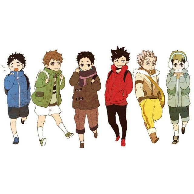 Baby Captains Haikyuu