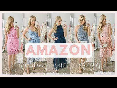 Amazon Prime Wedding Guest Dresses Under 100 Try On Haul Spring