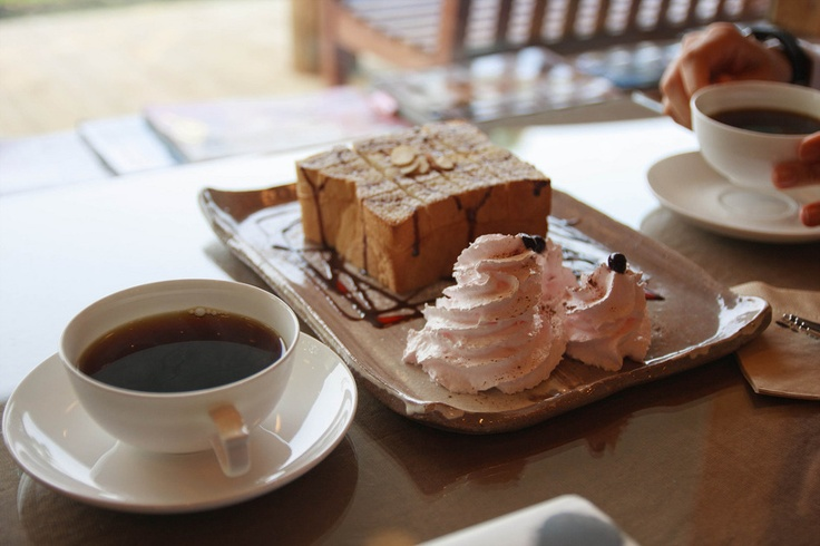 유수암 카페 테라 드립커피와 허니브레드 Cafe Terra