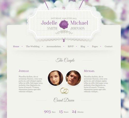 Wedding Invitation Premium Theme