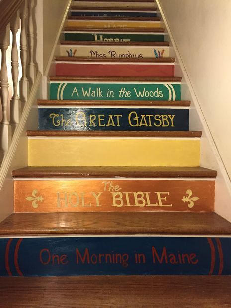 25 best ideas about book staircase on pinterest for Escaleras rusticas