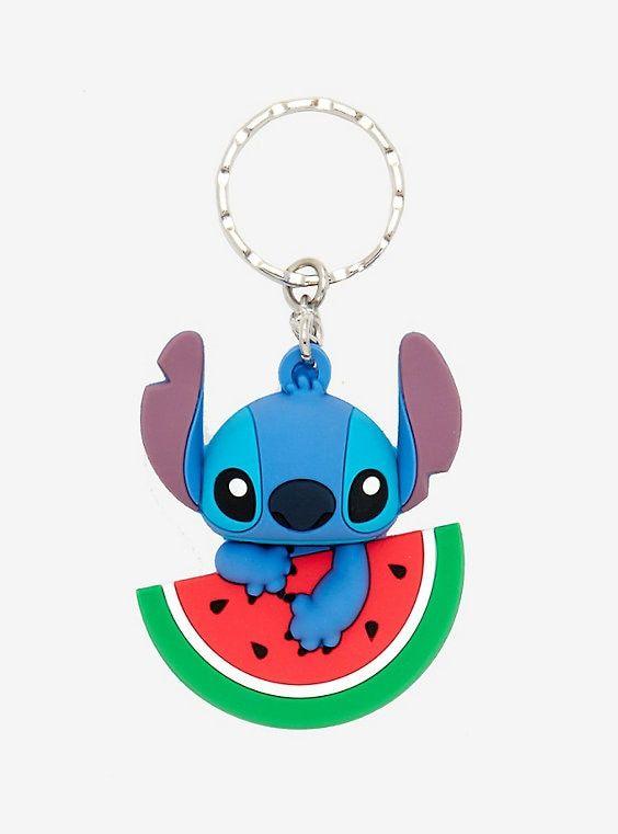 29bd0179f764 Disney Lilo   Stitch Watermelon Key Chain