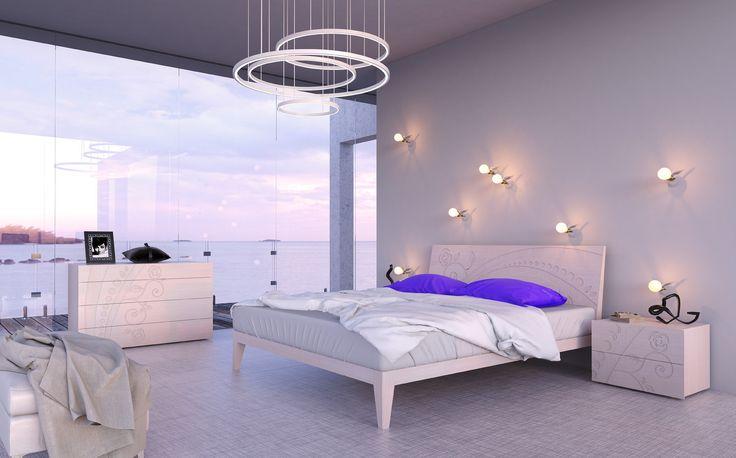 https://flic.kr/p/Dc8eq6 | 2016 collection MAZZALI GRANDI ARMADI | letto e gruppo DECO' LE FLEUR bed