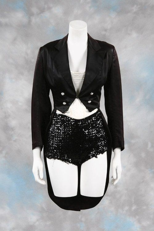Britney Spears Circus video dance costume