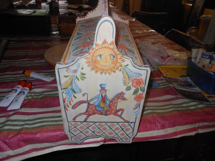 Swedish Sewing Box