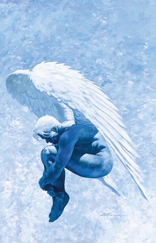 Lucifer Morningstar, by Chris Moeller. From The Sandman and Lucifer comics.